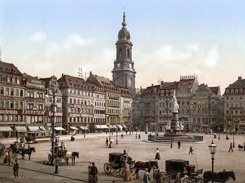 Dresden Kreuzkirche 1900