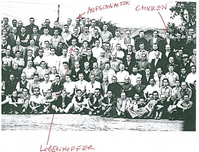 Names on photograph of interned Himalayan climbers
