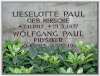 Paul, Wolfgang und Lieselotte