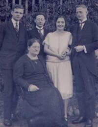 Gäbler, Else mit Familie