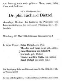 Dietzel, Richard