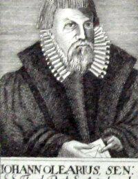 Olearius, Johannes